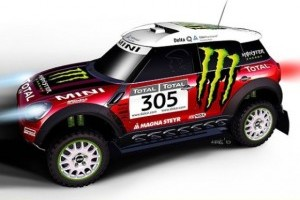 Mini Countryman se pregateste pentru Dakar