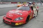 Claudiu David se pregateste pentru NASCAR