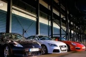 VIDEO: Porsche Boxter S vs Nissan 370Z vs Audi TT RS