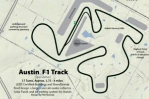 A inceput constructia circuitului american de la Austin