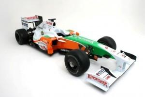 Force India va incepe testele cu masina din 2010