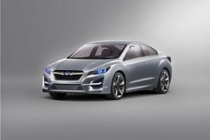 Subaru va prezenta noul coupe la Geneva
