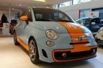 Iata noul Fiat 500 Gulf Limited Edition!