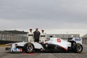 Sauber si-a prezentat noul C30