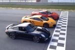 VIDEO: Ferrari 458 vs Porsche 911 vs McLaren MP4-12C