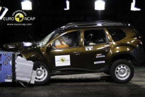 Dacia Duster este un dezastru in privinta sigurantei