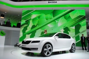 GENEVA LIVE: Skoda prezinta conceptul VisioD si noul logo