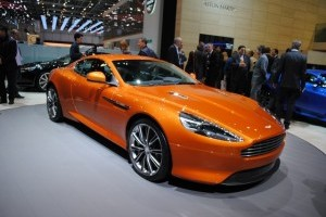 Geneva LIVE: Aston Martin Virage