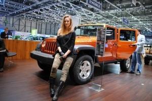 Geneva LIVE: Fete, masini, iar fete...