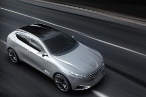 Peugeot SXC Concept, premiera la Shanghai
