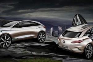 Trei noi fotografii cu Buick Envision,