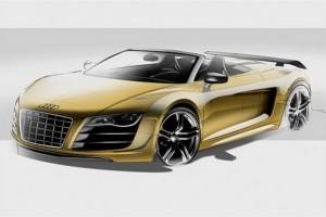Audi R8 Spyder vine la Frankfurt Auto Show