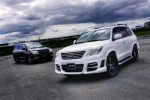 Lexus LX570 cu Wald Sports Line Black Bison Edition