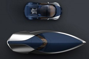 Bugatti Veyron Sang Bleu edition Speedboat