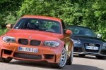 VIDEO:  Audi TT RS versus BMW M1 Coupe