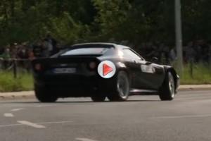 VIDEO: Michael Stoschek şi-a scos Noua Lancia Stratos la curse