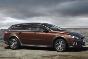OFICIAL: Peugeot 508 RXH, un hibrid diesel-electric