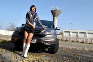 EXCLUSIV: Fetele de la Masini.ro - Honda CR-V & IceQueen