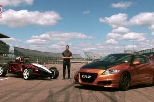 VIDEO: Honda CR-Z Mugen comparata cu .... Ariel Atom Mugen?!