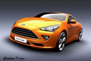 Ford Focus Coupé - Studiu de Design David Cardoso