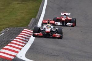 Alonso, multumit cu locul doi in Germania