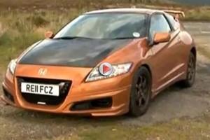 VIDEO: Honda CR-Z Mugen special testata de Fifth Gear