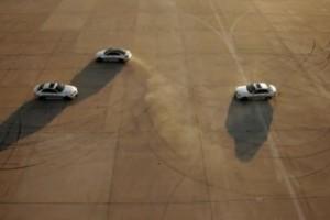 VIDEO: Drifturi cu C63 AMG Coupe