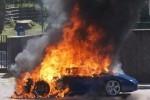 Lamborghini Gallardo ia foc spontan