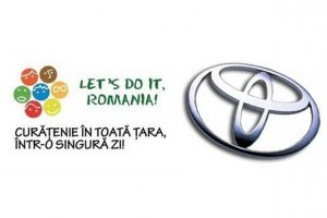 Toyota se alatura cauzei Let's do it, Romania!