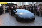 Lamborghini Aventador LP700-4 negru mat in Miami