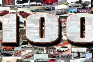 Inside Line Top 100 cele mai tari masini ale tuturor timpurilor