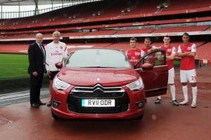 Arsenal merge in continuare cu Citroen