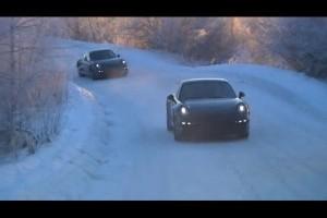 VIDEO: Test Porsche 911 la -31 grade