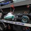Schumacher: E greu sa pilotezi in trei roti