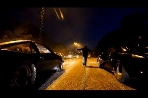 VIDEO: Curse ilegale de masini la Stockholm