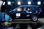 Noul BMW X3 primeste cinci stele la testul de impact Euro NCAP