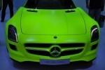 Frankfurt live: Mercedes SLS AMG E-CELL