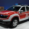 Frankfurt live: Dacia Duster Feuerwehr