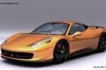 Ferrari 458 Italia in viziunea unui designer francez