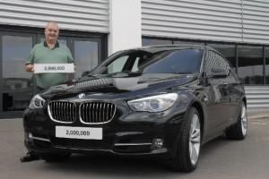BMW a vandut 2 milioane de vehicule seria 5 in Marea Britanie