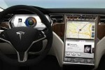 Tesla S – ecran de 17 inch
