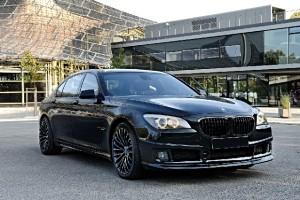BMW 750Li tunat de Tuningwerk Blacks