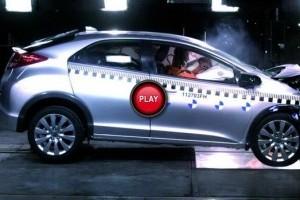 Test de impact - Honda Civic 2012