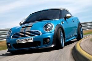 MINI Coupe s-a lansat on line