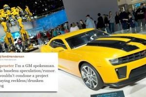 General Motors neaga participarea la remake-ul The Cannonball Run