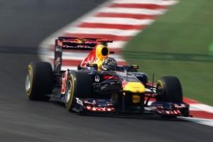 Vettel incheie antrenamentele din India pe primul loc