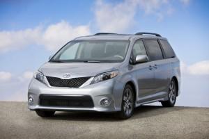 Toyota exporta Sienna in Coreea de Sud