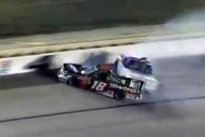 Accident la NASCAR - Kyle Busch