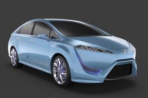 Noua Toyota FCV-R Fuel-Cell Concept