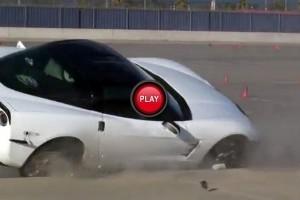 VIDEO: Cum sa nu conduci un Corvete